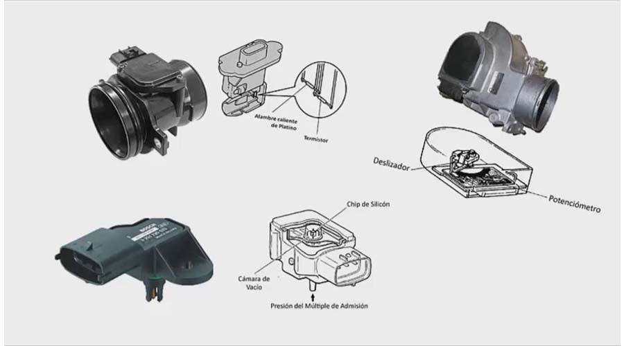 sensor del automóvil