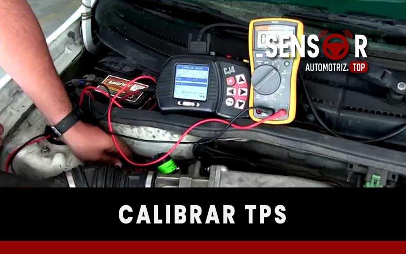 Cómo calibrar el Sensor TPS