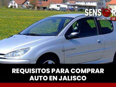Requisitos para comprar un auto usado en Jalisco: México
