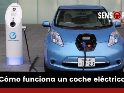 ¿Cómo funciona un coche eléctrico?