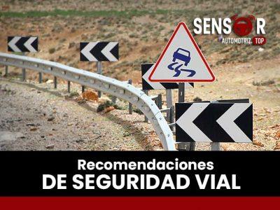 Recomendaciones de seguridad vial