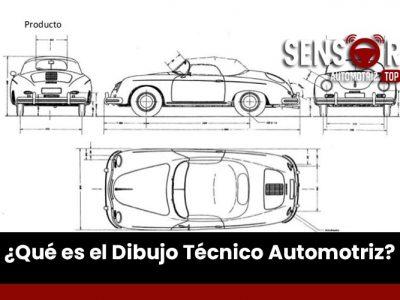 ¿Qué es el dibujo técnico automotriz?