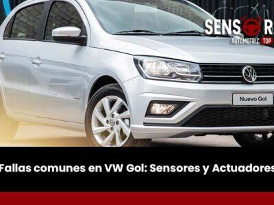 Fallas comunes en VW Gol: Sensores y Actuadores