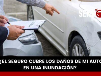¿El seguro cubre los daños de mi auto en una inundación?